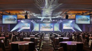 Conference Projection, Audio, and Lighting