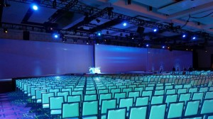 Large conference AV services
