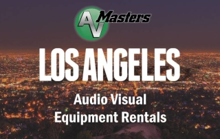 Los Angeles Audio Visual Rentals